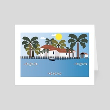 Mexico 3 - Art Card by Michal Eyal