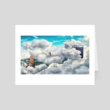 Climbing Higher - Art Card by Alexandra Gregor