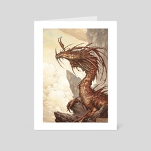 Red Dragon - Art Card by Filip Burburan