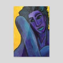 Brianna - Acrylic by Kezia Cole