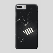 Alien - Phone Case by Matt Chinworth