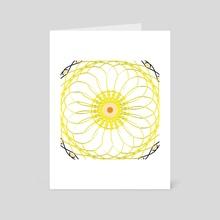 Plastic Bloom - Art Card by Shauna Swaby