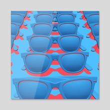 Shades - Acrylic by Eric Sylvester
