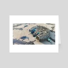 Launching - Art Card by TK Samaan