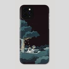 Midnight Picnic  - Phone Case by Catana Chetwynd