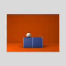 Match Point - Canvas by Selçuk Güçer