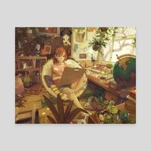 Habitat - Canvas by Sarah Webb