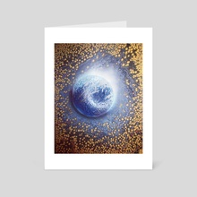 Traveling the Cosmos - Art Card by James Pennington