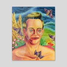 Peppercorn Portrait - Acrylic by Matthew Panuska