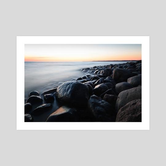 Rocky seaside by Rihards Krjucins