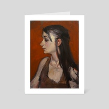 Earth Red - Art Card by John Larriva