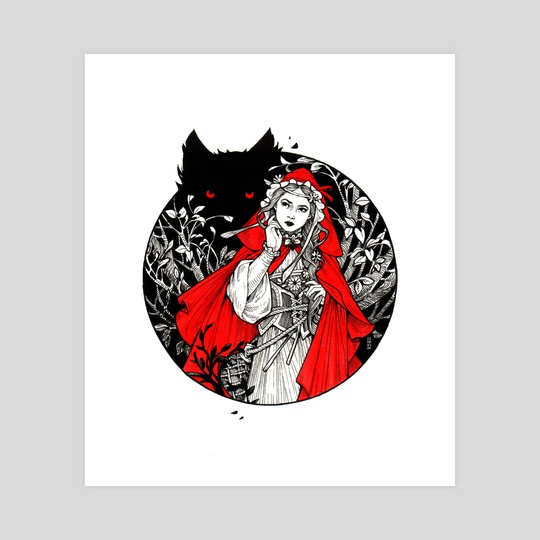 Little Red Riding Hood by Maria Dimova