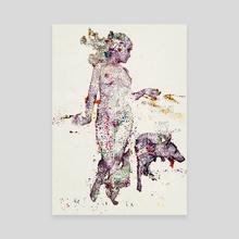 Stand - Canvas by Nikolai Larin