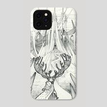 The Snow Queen - Phone Case by Julia Filimonova