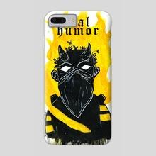 Mal humor (Bad Mood) - Phone Case by Augusto Salvalai