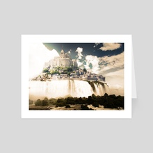 Castle in the Sky - Art Card by mtforlife