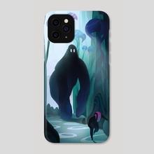 Alien planet - Phone Case by Vincent Belbari