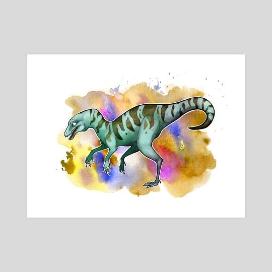 Nyasasaurus by Charli Vince