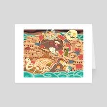 Chapter 6: Loguetown. - Art Card by Do0dledan