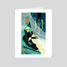 Four of Swords - Art Card by Xanthe Bouma