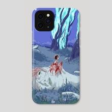 Rebirth2 - Phone Case by charlo frade
