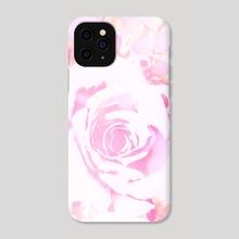 Blushing Pink Rose - Phone Case by Bridget Garofalo