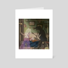 Victoria et Dieu - Art Card by Sam_Artworks