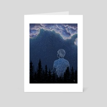 Astral Projection - Art Card by Ash Weaver