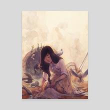 Aschenputtel - Canvas by Gillian Grossman