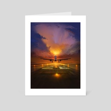 Fly High - Art Card by Artem Cheboha