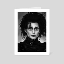 Edward Scissorhands - Art Card by Anastasja Andrejas