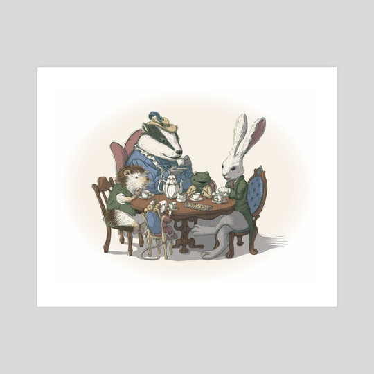 Tea Party by Sarah Perkins