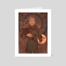 Pathologic Art Nouveau Haruspex - Art Card by ukropstales