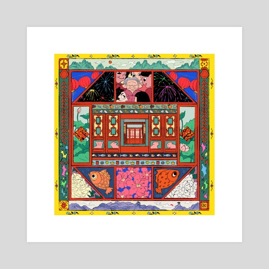Lunar New Year by Sarula Bao