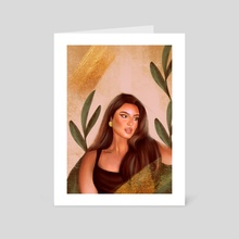 ATRA - Art Card by Bashayer Ahmed
