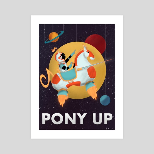 pony up by Amanda Cotan