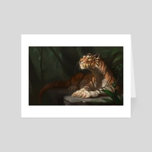 Comfortable - Art Card by Ilse Gort