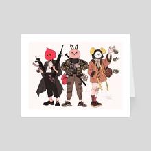 Bt21 Mask Rival Maknae Line - Art Card by thea (rvrie)