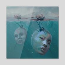 Regeneration - Acrylic by Nicole  Wheat