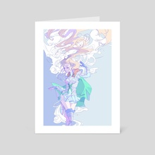 Ingrid - Art Card by Fortisselle
