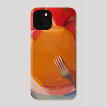 Silver Dollar Pancakes - Phone Case by Yuri Tayshete