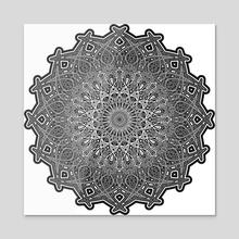 Iris - 2018 - Acrylic by 4lien71