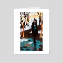 Melancholy - Art Card by Marina Evlanova