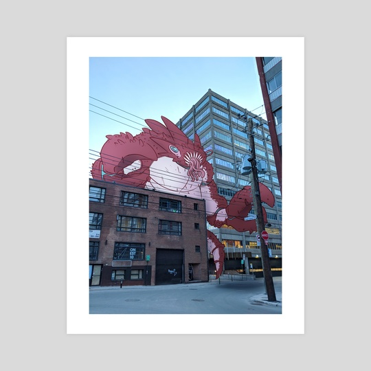 Kaiju of Montreal : Pincers of destruction by Mathieu Falardeau