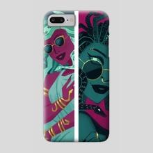 Modern Medusa  - Phone Case by Diana Whitney