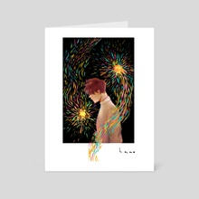 Afterimage - Art Card by hano