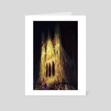 Entrance - Art Card by Martha Wirkijowski