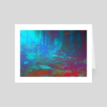 Moonlit Forest - Art Card by LS Drake