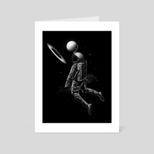 Saturn Dunk - Art Card by Nicebleed