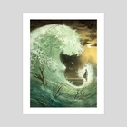 Wave - Art Print by Anna and Elena Balbusso Twins